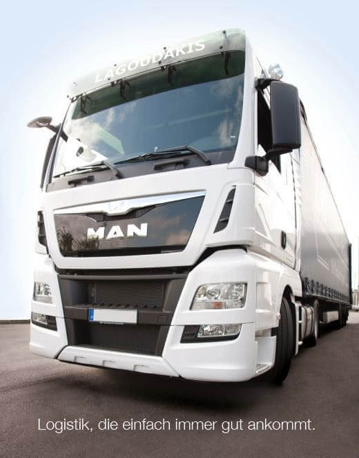 MAN-LKW Logistik